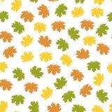 Bright autumn background,  illustration. Seamless bright autumn background,  illustration Stock Photography