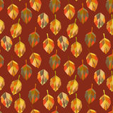 Bright autumn pattern Royalty Free Stock Image