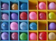 Bright baby balloons Stock Photo