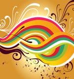 Bright background vector illustration