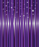 Bright background. Dark background with stars and being shone lines Stock Photo