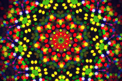Bright background with abstract bokeh pattern Royalty Free Stock Image