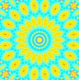 Bright abstract concentric pattern Stock Photography