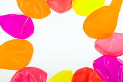 Bright background from air marbles Royalty Free Stock Photo