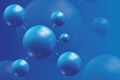 Bright  background with balls Royalty Free Stock Photo