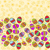 Bright Background with Easter Egg Royalty Free Stock Images