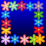 Bright background with flowers for a design Stock Photo