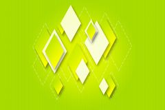 Bright background with geometric diamonds for desi Royalty Free Stock Photo