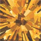 Bright background with geometric shapes. Illustration stock illustration