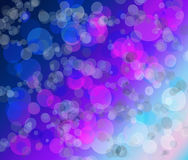 Bright background with a gradient and effect bokeh Stock Photos