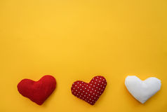 Bright background with hearts. Background for Valentine`s day Stock Photo