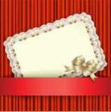 Bright background with holiday card Royalty Free Stock Image