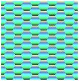 Bright background imitating holographic coating. Bright vector background imitating colorfull holographic coating with glistening honeycombs vector illustration