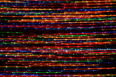 Bright background of lights Stock Image