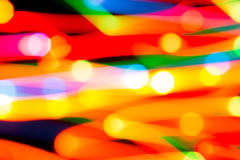 Bright background of lights Stock Photography