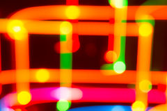 Bright background of lights Royalty Free Stock Photo