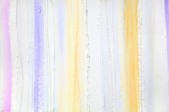 Bright background of plaster and paint stripes in pastel shades Royalty Free Stock Photo