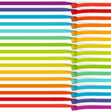 Bright background - a rainbow. Royalty Free Stock Photo