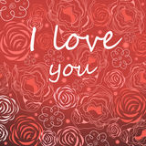 Bright background for Valentines day Royalty Free Stock Photography