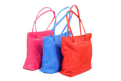 Bright bags Royalty Free Stock Images
