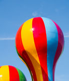 Bright Balloon Shapes. Royalty Free Stock Images