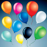 Bright Balloons Royalty Free Stock Images