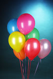 Bright balloons Stock Images