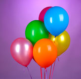 Bright balloons Royalty Free Stock Image