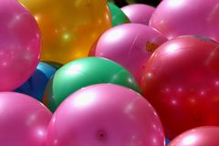 Bright Balls Royalty Free Stock Photography