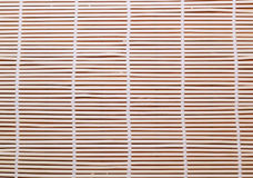 Bright Bamboo mat for sushi Royalty Free Stock Photos