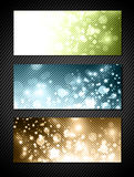 Bright Banner Set Stock Image