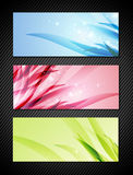 Bright Banner Set Royalty Free Stock Photo