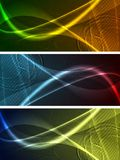 Bright banners collection Royalty Free Stock Image