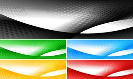 Bright banners collection Stock Photo
