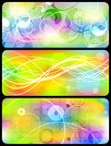 Bright banners collection - eps 10 Royalty Free Stock Image