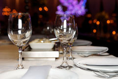 Bright banquet table Royalty Free Stock Photos