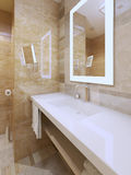 Bright bathroom trend Royalty Free Stock Photos