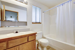 Bright bathroom with window Stock Photography