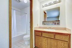 Bright bathroom wtih anteroom Royalty Free Stock Image