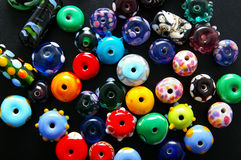 Bright beads Royalty Free Stock Photography