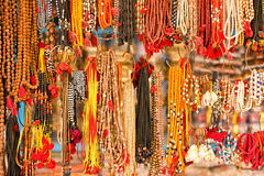 Bright beads. Decorative ornaments for women Stock Image