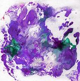 Bright beautiful painted texture with paints Royalty Free Stock Images