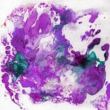 Bright beautiful painted texture with paints Stock Image