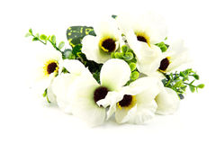 Bright and beautiful of plastic flower Stock Photo