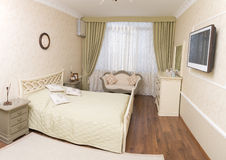 Bright bedroom Royalty Free Stock Images