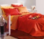 Bright bedroom Stock Photos