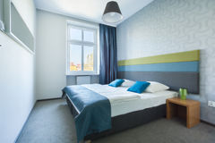 Bright Bedroom In New House Royalty Free Stock Image