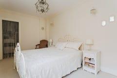 Bright bedroom of teenage princess Stock Photos