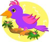 Bright Bird on a Branch Stock Photos
