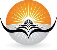Bright birds logo Stock Photos